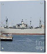 Liberty Ship Ss John W. Brown Acrylic Print