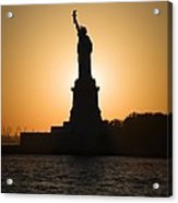 Liberty Sunset Acrylic Print