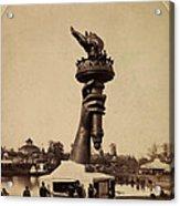 Liberty Torch At Philadelphia For Us Centennial 1876 Acrylic Print
