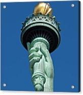Liberty Torch Acrylic Print by Brian Jannsen