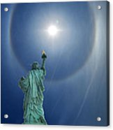 Liberty's Halo Acrylic Print