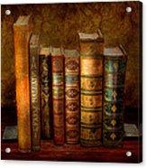 Librarian - Writer - Antiquarian Books Acrylic Print