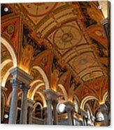 Library Of Congress - Washington Dc - 011317 Acrylic Print by DC Photographer
