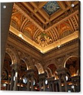 Library Of Congress - Washington Dc - 011321 Acrylic Print by DC Photographer