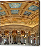Library Of Congress - Washington Dc - 011322 Acrylic Print by DC Photographer