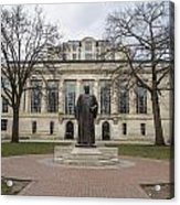 Library Ohio State University  Acrylic Print