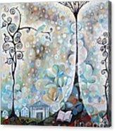 Library Tree Acrylic Print