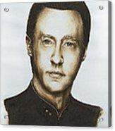 Lieutenant Commander Data Star Trek Tng Acrylic Print by Giulia Riva