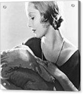 Life Begins, Loretta Young, 1932 Acrylic Print