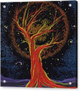 Life Blood Tree By Jrr Acrylic Print