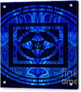 Life Force Within Abstract Healing Artwork Acrylic Print