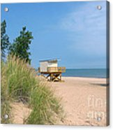Life Guard Station Acrylic Print