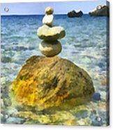 Life In Balance Acrylic Print