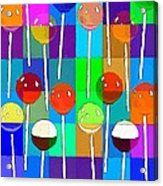 Life Is Full Of Lollipops Acrylic Print