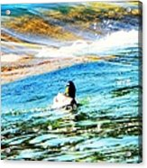 Life Is Just Ducky Acrylic Print