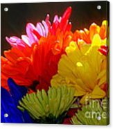 Life Is Short Buy The Flowers Acrylic Print