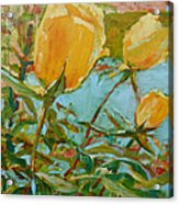 Life Is The Flower Acrylic Print