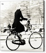 Life On Bike. Trash Sketches From The Amsterdam Streets Acrylic Print