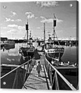 Life On The Docks Acrylic Print