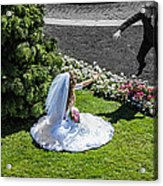 Life Story Stepping Into A New World Acrylic Print