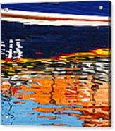Lifeboat Reflections Acrylic Print