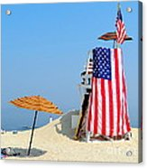 Lifeguard 9-11 Tribute Acrylic Print
