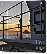 Lifeguard Tower 5  Acrylic Print