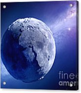 Lifeless Earth Acrylic Print