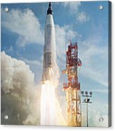 Lift Off Acrylic Print by Peter Chilelli