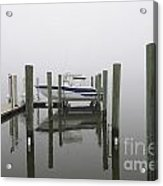 Lifted Up Into The Fog Acrylic Print