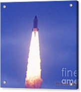 Liftoff Of Endeavour Acrylic Print