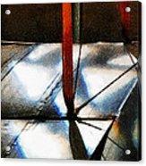 Light Across The Wings Acrylic Print