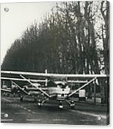 Light Aircraft In March Past Acrylic Print