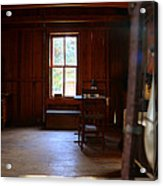 Light And Cabin Acrylic Print