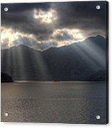Light And Mountains Acrylic Print