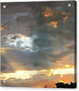 Light At Sunset Acrylic Print by Ric Soulen