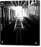 Light At The End Of The Tunnel. Acrylic Print