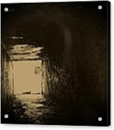 Light At The End Of The Tunnel Acrylic Print