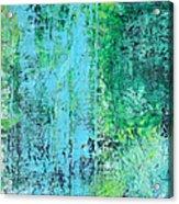 Light Blue Green Abstract Explore By Chakramoon Acrylic Print