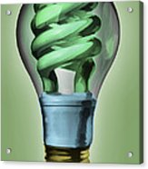 Light Bulb Acrylic Print