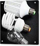 Light Bulb Generations Acrylic Print