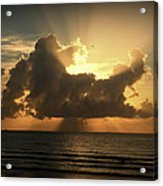 Light Explosion Acrylic Print