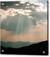 Light Fan Acrylic Print