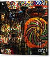 Light Fixtures Acrylic Print