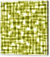 Light Green Abstract Acrylic Print by Frank Tschakert