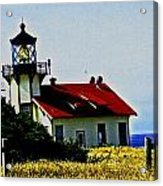 Light House At Midday Acrylic Print