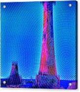 Light House At Sunrise 2 Acrylic Print
