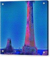 Light House At Sunset 1 Acrylic Print
