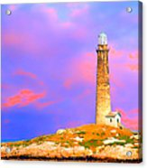 Light House Onthatcher Island Acrylic Print