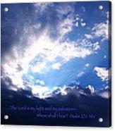 Light II Acrylic Print
